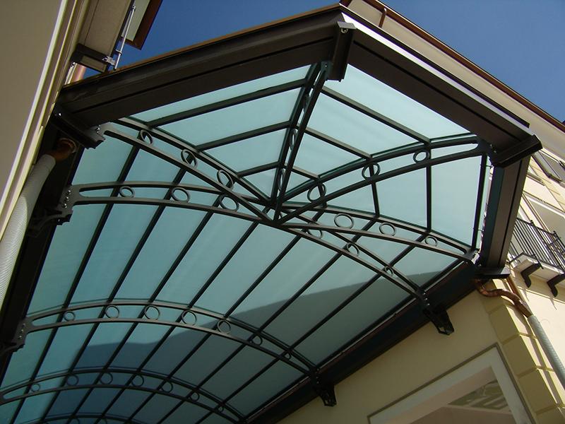 Struttura in ferro e vetro per copertura galleria di un centro commerciale alice terzi studio - Struttura in ferro per casa ...